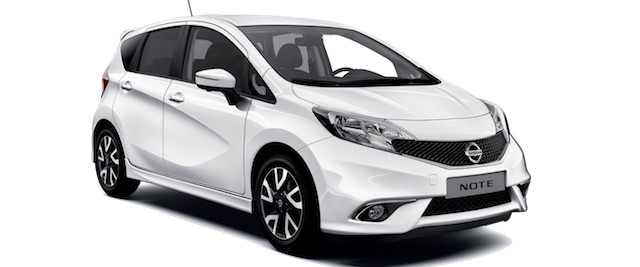 Nissan Note Rhodos car rent